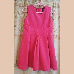 Toddler GAP Pink Corduroy Dress